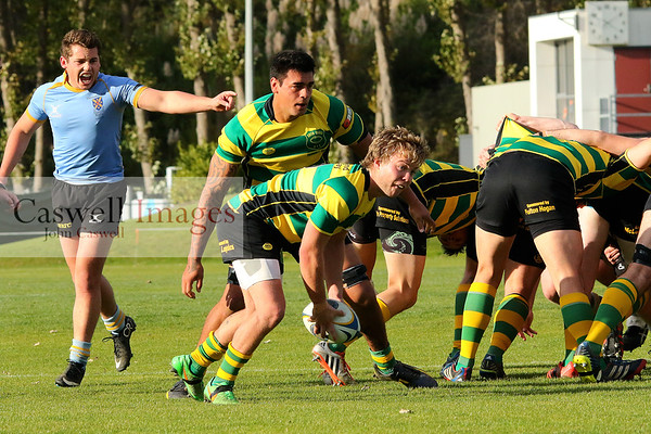 Dunedin Club Rugby – University A v Green Island