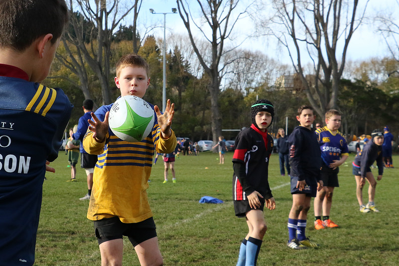 Otago Junior Rugby Skills Session