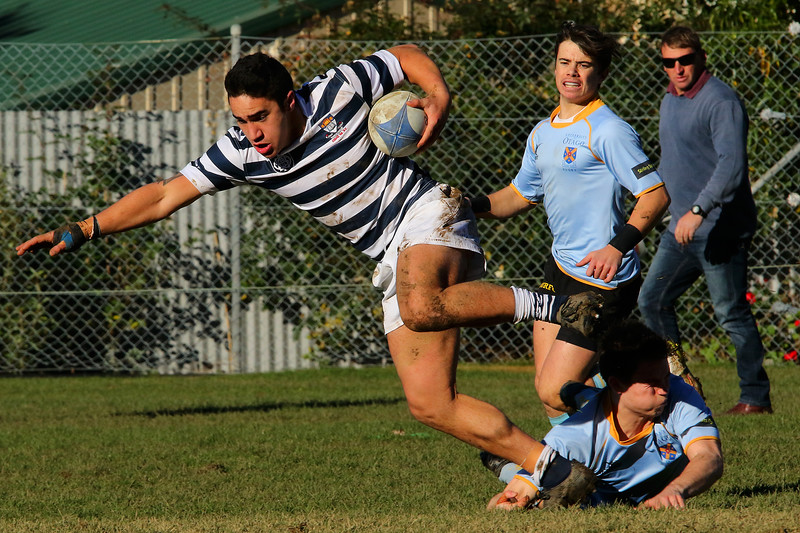 Otago Boys High School 1st XV v University Blue (25.06.16)