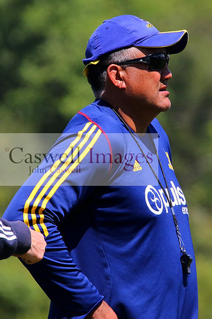Super Rugby - Highlanders Training 21.01.16