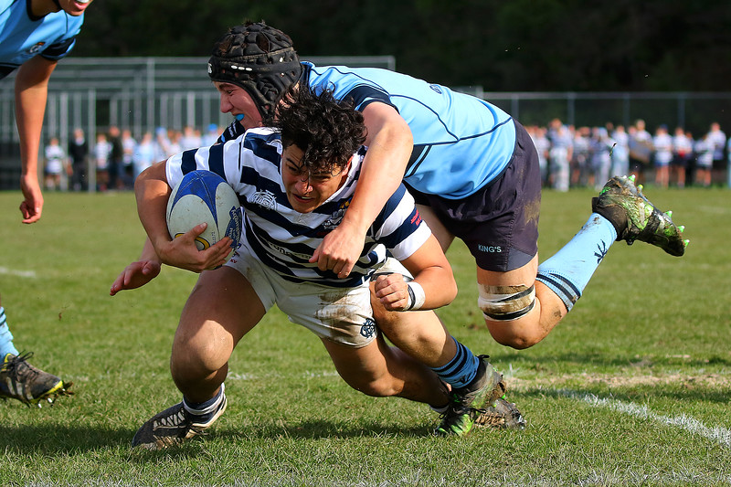 Highlanders Region Semi Final; Otago Boys High School 1st XV v Kings High School 1st XV