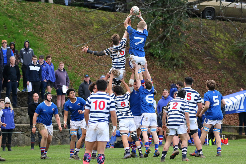 1st XV Rugby: Highlanders region final: Otago Boys High School 1st XV v Southland Boys High School 1st XV (25.08.18).