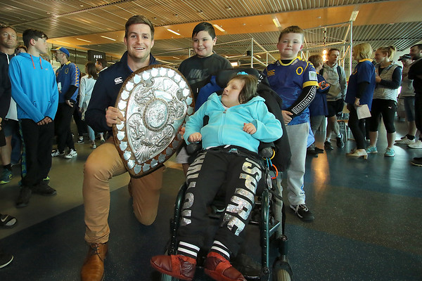 Rugby: The Ranfurly Shield arrival in Otago (14.10.18)