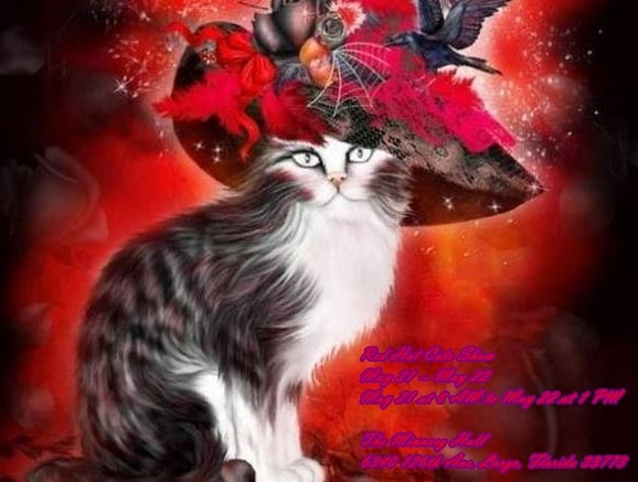 Red Hat Cats   May 21-22nd  Show    Largo,Fl