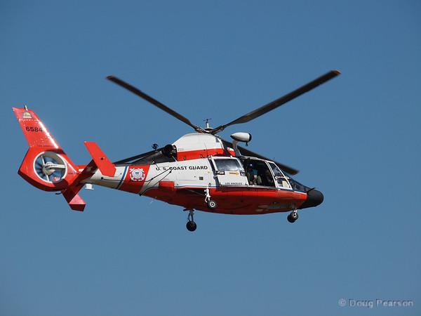 USCG 6584 departing American Heroes Airshow 2012