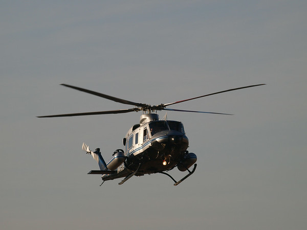 N411DE arriving at the 2014 AHAS Los Angeles