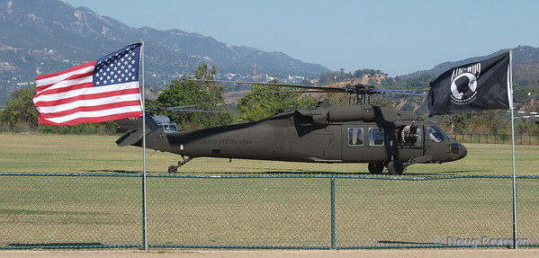 Pictures of US Army helicopter taken at 2009 Heroes Air Show LA at Hansen Dam in Los Angeles