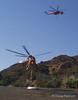Two Ericson Sky Crane heilcopters