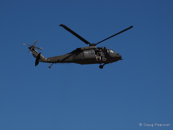 US Army 560 leaving American Heroes Airshow 2012