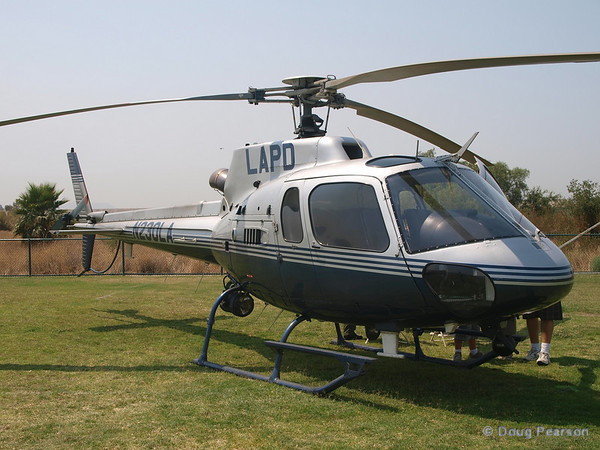 LAPD N230LA at 2008 Heroes Airshow, Hansen Dam, Los Angeles