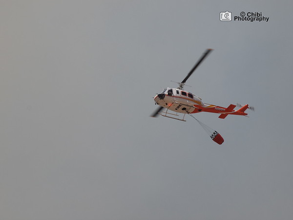 N669H at Cottonwood Valley Fire, image 2