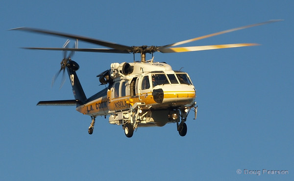 LA County Fire Department Copter 19