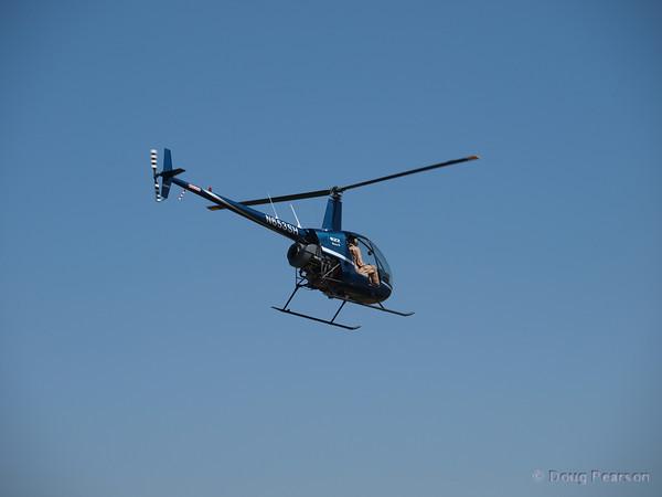 N653SH, a Robinson R22 at Hansen Dam for American Heroes Air Show 2010