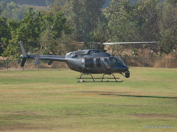 N415ATarriving at Hansen Dam for American Heroes Air Show 2010