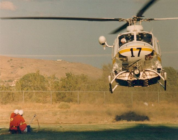 Copter 17 fills up and continues the attack