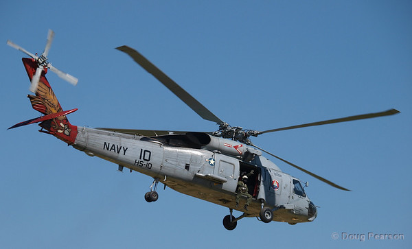 Pictures of US Navy Seahawk from HS-10 taken at 2009 Heros Air Show LA at Hansen Dam in Los Angeles