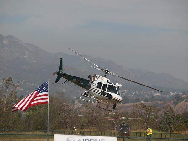 N994SD leaving the 2014 AHAS Los Angeles