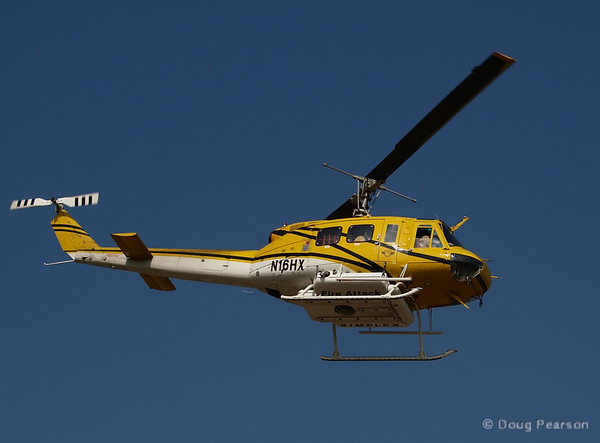 USFS contract helicopter at Hastings IC, July 18, 2008