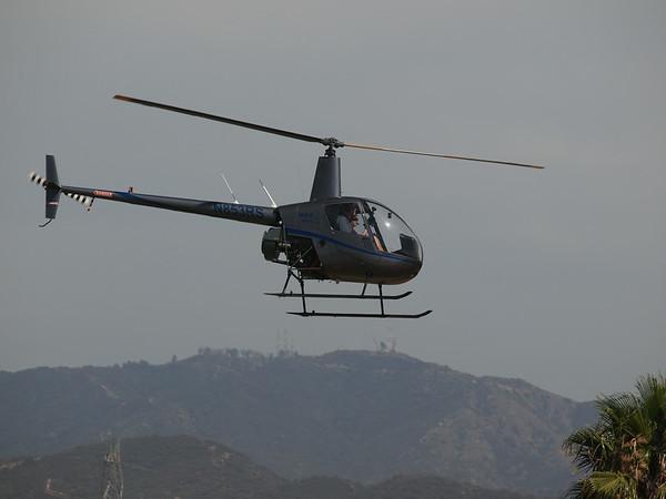 N853RS leaving the 2014 AHAS Los Angeles
