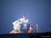 Discovery launches on STS-133 from Pad 39A at Kennedy Space Center in Florida