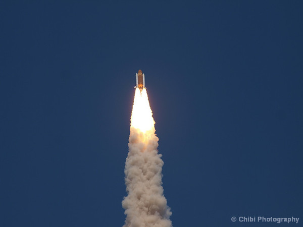 Space Shuttle Atlantis heads into space on STS-132. May 14, 2010