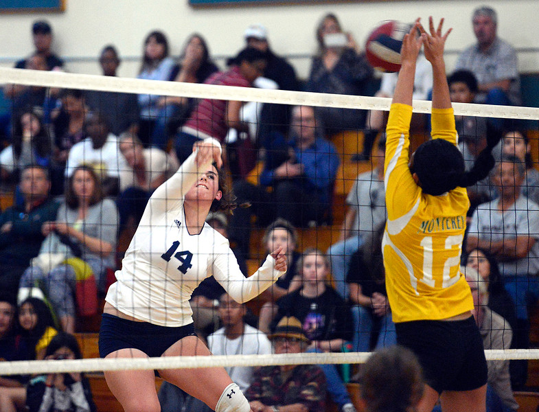 Catalina volleyball vs Monterey
