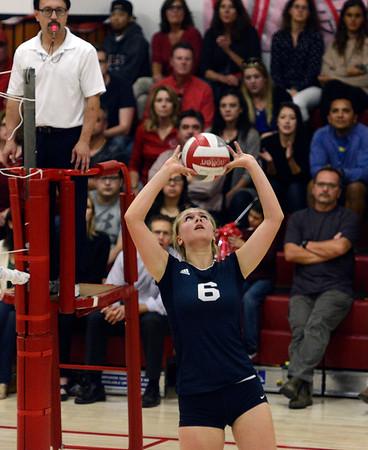 Catalina vs Carmel volleyball 102616