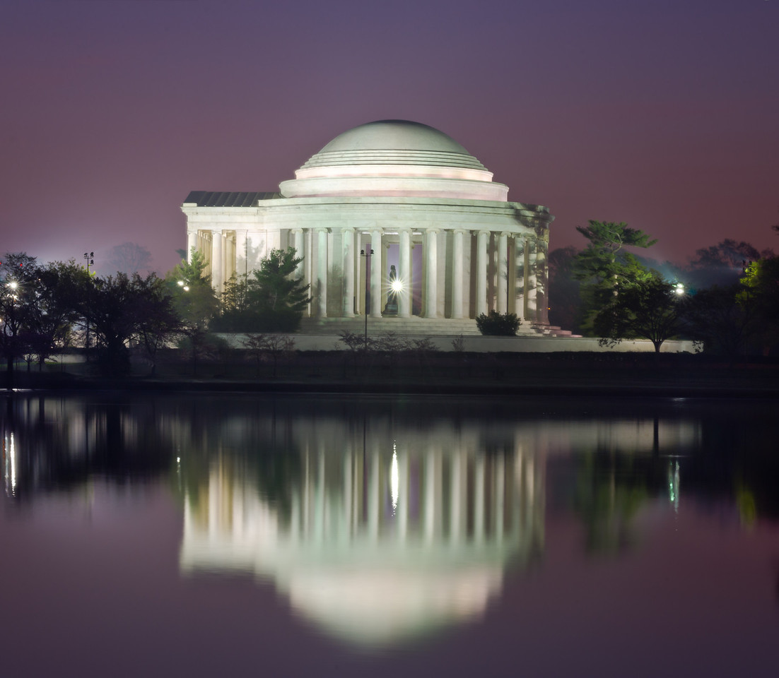 Jefferson's Mirror (With Light Burst)