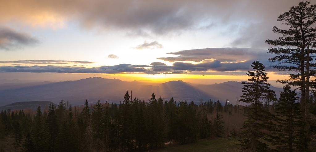 Sunrise from North Sandia Peak