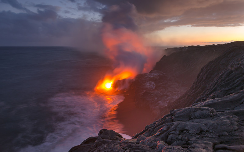 Primal Beach Lava Flow