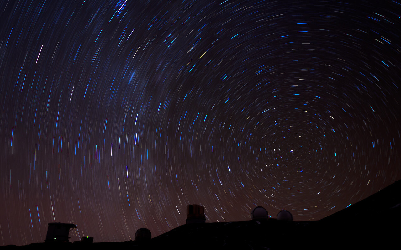 Mauna Kea North Star Spin