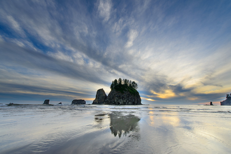 Sea Stack Reflection (La Push)