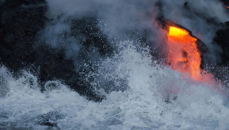Lava Wave Crash