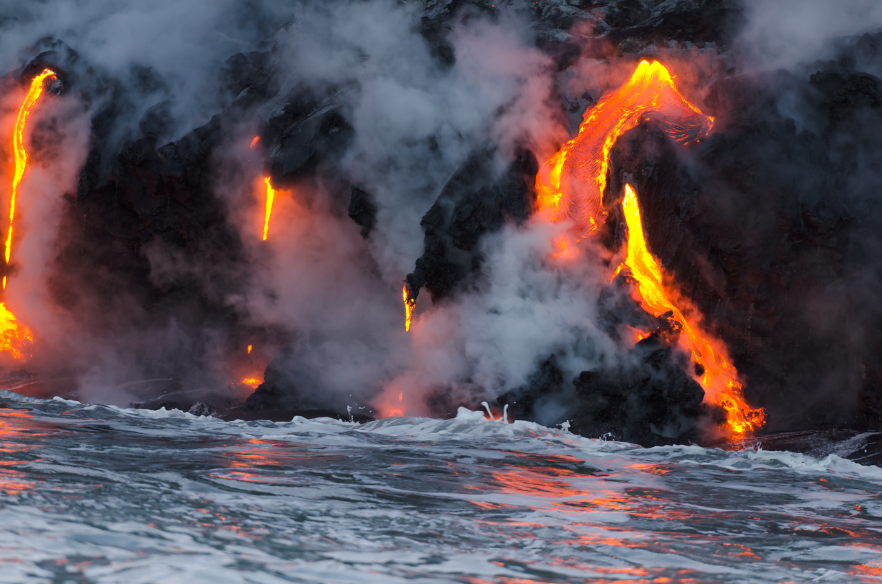Lava Reflections
