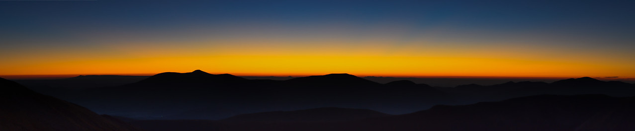 Dawn Colors from Mt Wheeler