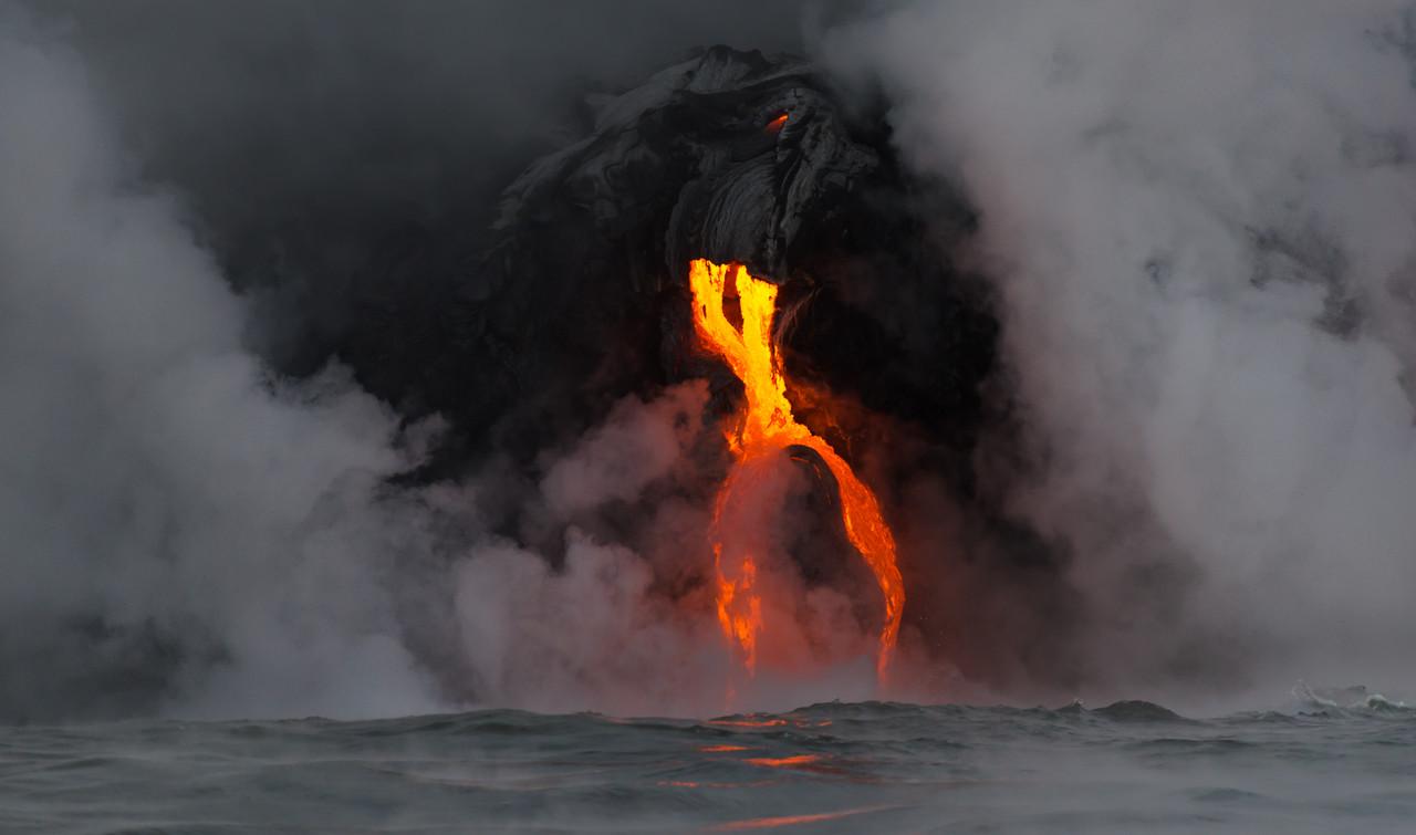 Lava Split Flow