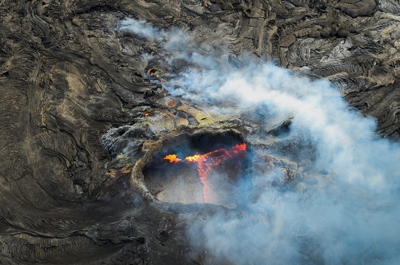 Active Lava Cone