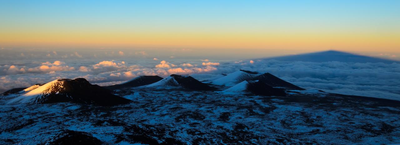 Mauna Kea Mountain Shadow