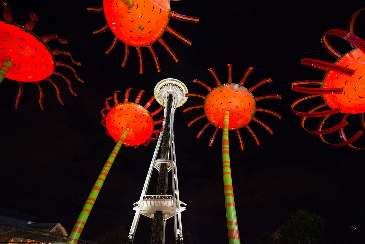 Space Needle & Don Corson's Sonic Bloom