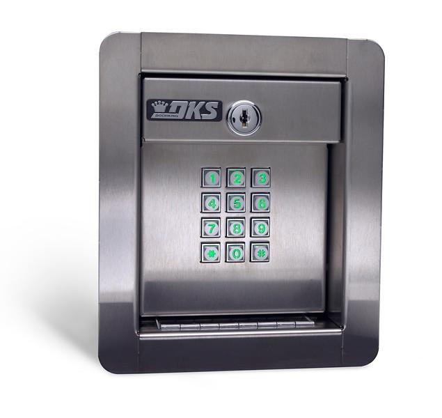 1500 flush keypad-lighted