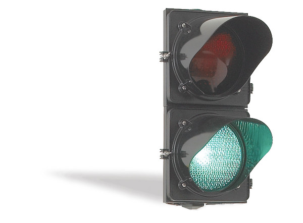 signal light green