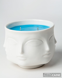 Ceramic Scented Candle