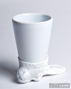 Porcelain Shot Glass