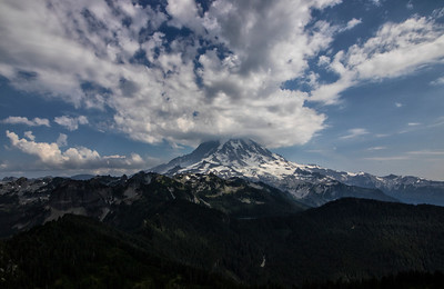 Landscape: Orographic Line | Mt Rainier National Park
