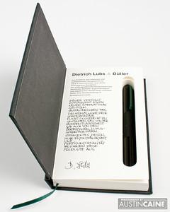 Journal w/ Pen Holding Cutout