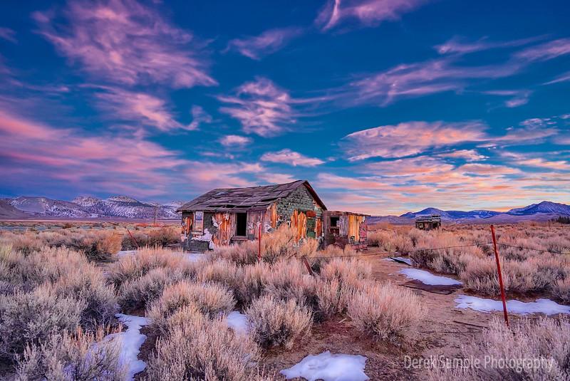 Sam Cabins Sunset