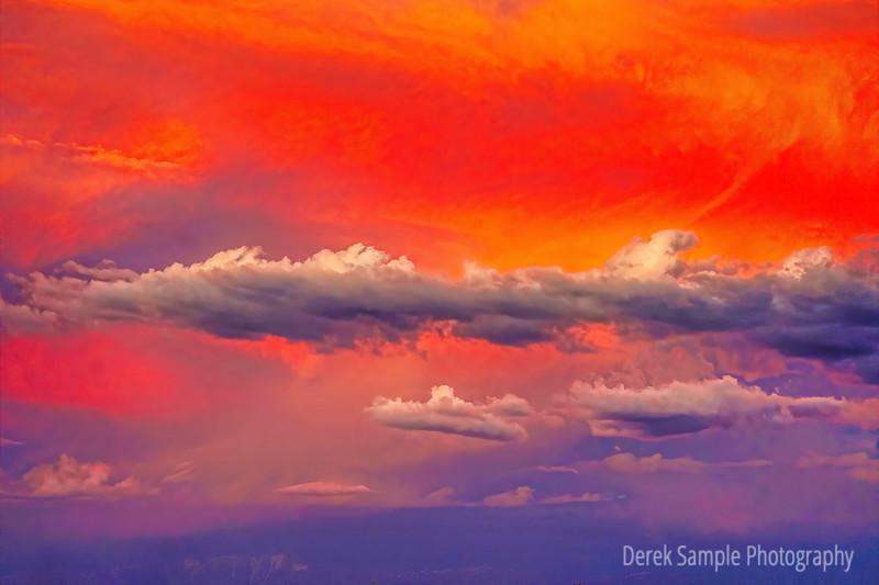 Beautiful skies during Sunset 5/26/20