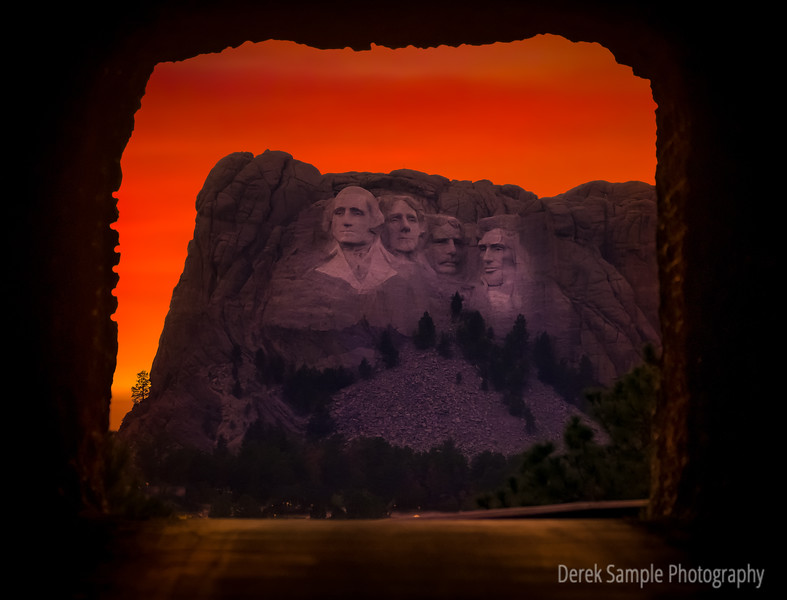 Mt Rushmore thru the Needles tunnels