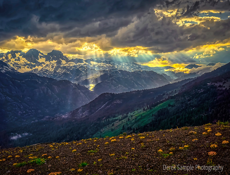 Summer Storm above Red Meadows