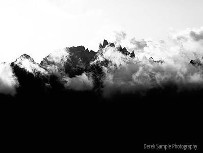 Minarets thru the Clouds